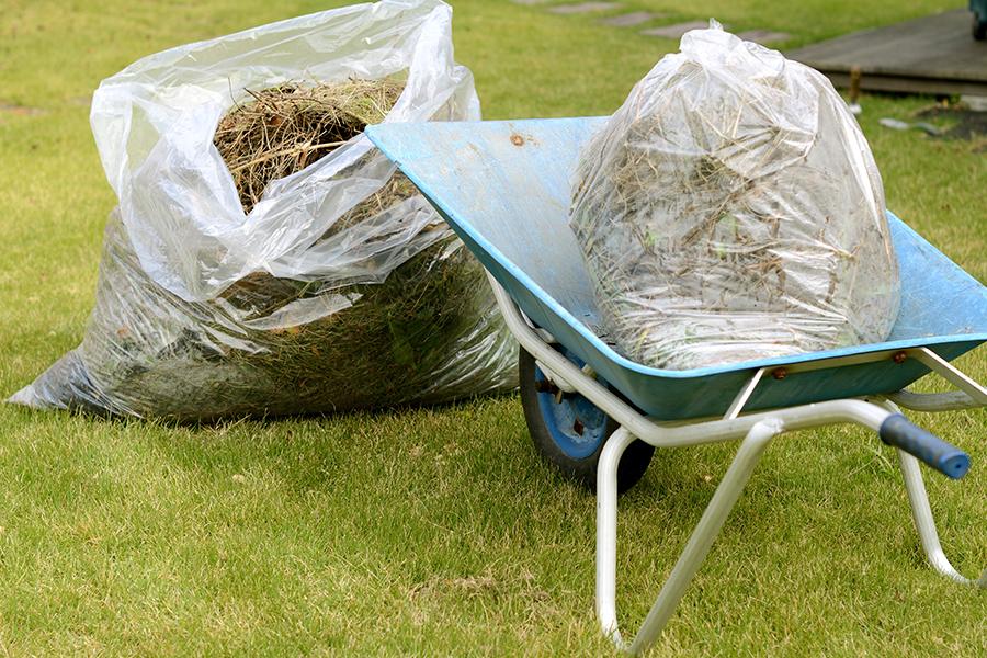 芝刈り・草刈り(機械刈)